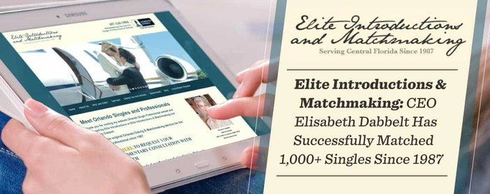 Elite Introductions & Matchmaking: CEO Elisabeth Dabbelt Has Successfully Matched 1,000+ Singles Since 1987