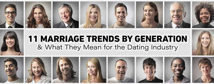 Marriage Trends By Generation