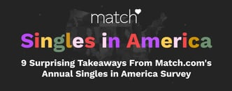 9 Takeaways From Match.com's Annual Singles Survey