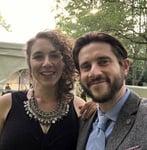 Photo of Ben and Becca Elmen, Founders of DateBritishGuys.com
