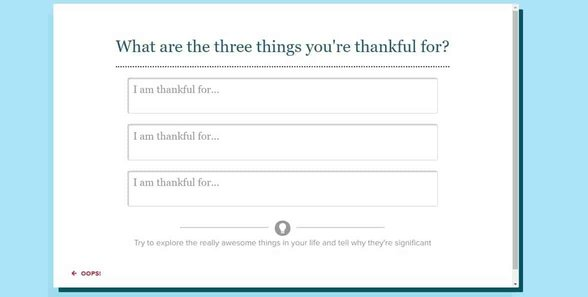 Screenshot of eHarmony's questionnaire