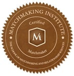 Photo of the Matchmaking Institute certification badge