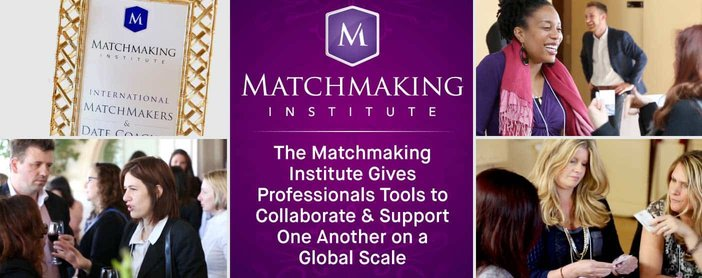 The Matchmaking Institute Gives Professionals Tools to Collaborate & Support One Another on a Global Scale