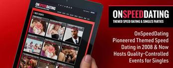 OnSpeedDating Pioneered Themed Speed Dating in 2008