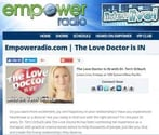 Screenshot of Dr. Terri Orbuch's radio channel