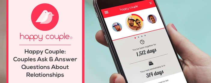 Happy Couple App Asks And Answers Questions About Relationships