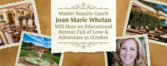 Master Results Coach Joan Marie Whelan to Host Retreat in October