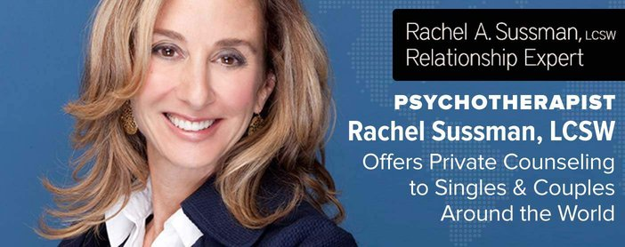 Psychotherapist Rachel Sussman Offers Private Counseling To Singles And Couples