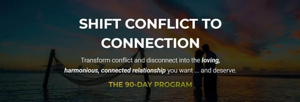 "Screenshot from the ""Conflict to Connection"" program"