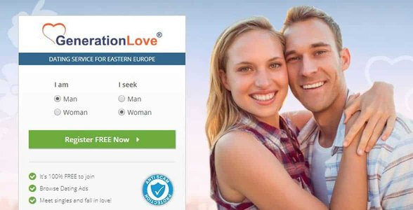 Screenshot of GenerationLove's website