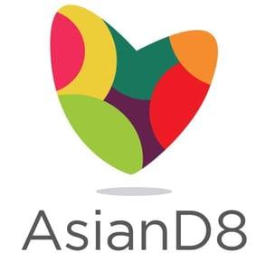 The AsianD8 logo