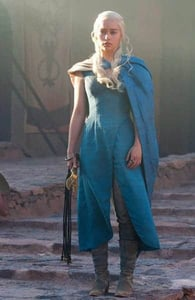 Photo of Daenerys Targaryen in Game of Thrones