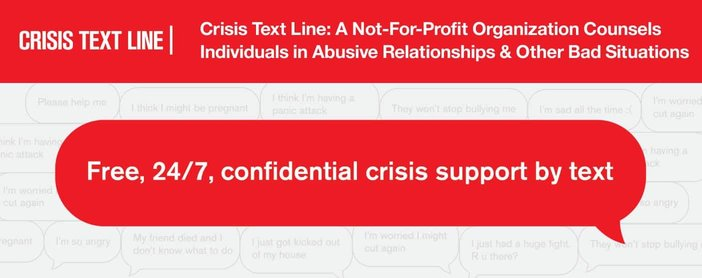 Crisis Text Line Counsels Individuals In Abusive Relationships