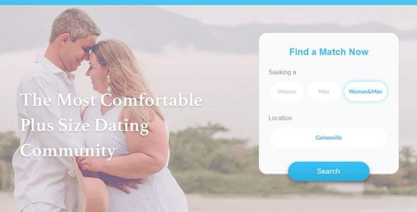 Screenshot of the WooPlus homepage