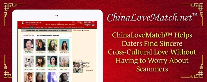 ChinaLoveMatch™ Helps Daters Find Sincere Cross-Cultural Love Without Having to Worry About Scammers