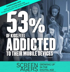 A Screenagers movie poster
