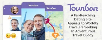 TourBar™ Appeals to Travelers Seeking an Adventurous Date