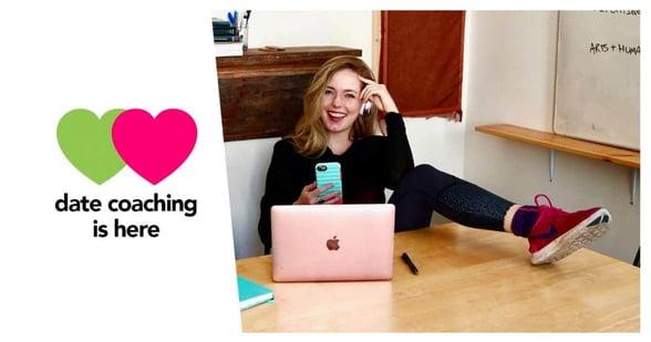 Screenshot of a Find Veg Love coaching banner