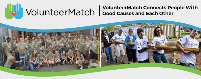 VolunteerMatch.org Connects Millions of Passionate People With Good Causes and Each Other