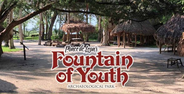Screenshot from the Fountain of Youth Florida website