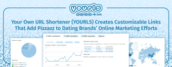 YOURLS: Customizable Links Help Dating Brands' Marketing Efforts