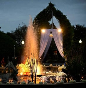 Photo of a wedding at Houmas House
