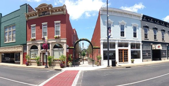 Photo of downtown Campbellsville