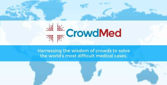 Screenshot from CrowdMed's website