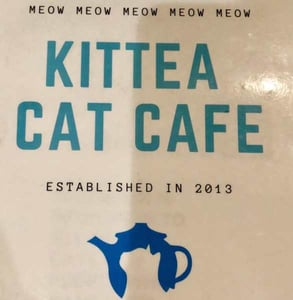 The KitTea Cat Café logo