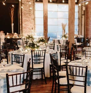 Photo of a wedding reception at Terminus 330