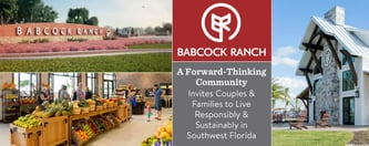Babcock Ranch Invites Couples to Live Sustainably in Florida