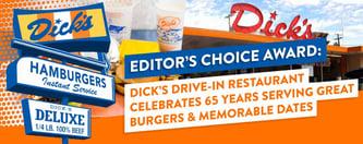 Dick's Celebrates 65 Years Serving Memorable Burgers & Dates