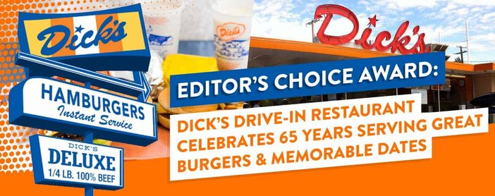 Dicks Drive In Celebrates 65 Years Serving Great Burgers And Dates