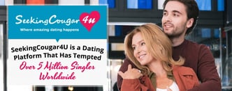 SeekingCougar Tempts Over 5 Million Singles