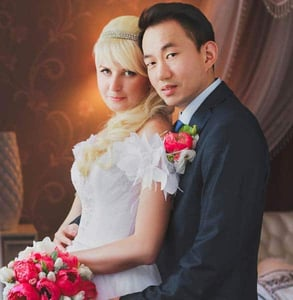 Photo of Masha and Min
