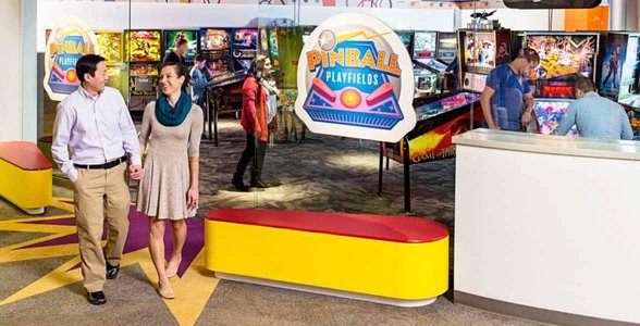 Photo of the Pinball Playfields