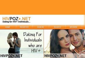 Screenshot of HIVPoz.net