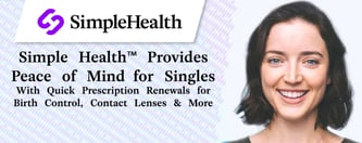 Simple Health™ Provides Peace of Mind for Singles