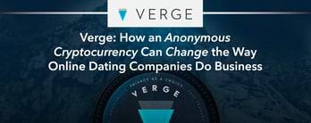 Verge: How Cryptocurrency Can Change Online Dating