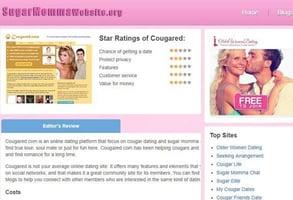 Screenshot of SugarMommaWebsite.org
