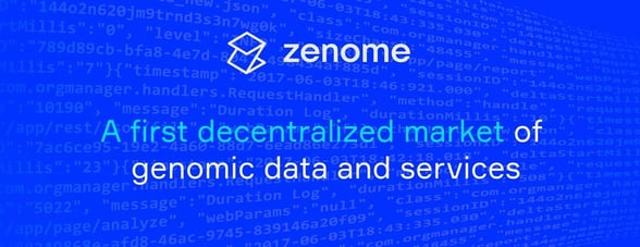 Screenshot of Zenome banner