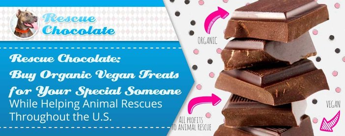 Rescue Chocolate Buy Treats For Your Love While Helping Animals