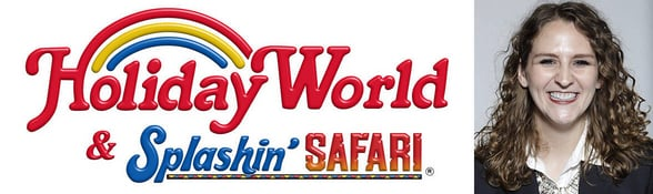 Photo of Leah Koch, Director of Communications at Holiday World & Splashin' Safari