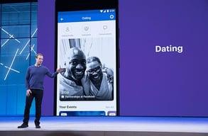 Photo of Mark Zuckerberg at F8