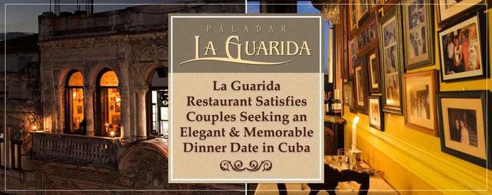 La Guarida Restaurant Satisfies Couples Seeking an Elegant & Memorable Dinner Date in Cuba