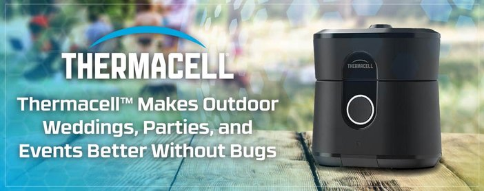 Thermacell Makes Outdoor Weddings Better Without Bugs