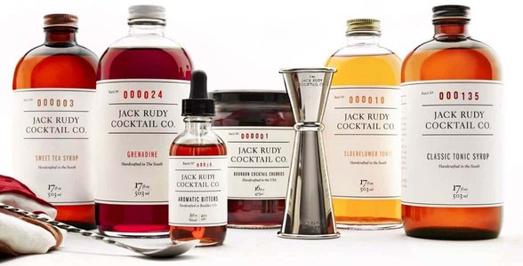 Photo of Jack Rudy Cocktail Co. products