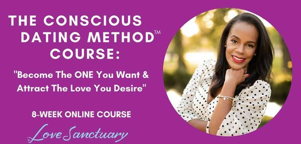 Screenshot of the Conscious Dating Method course
