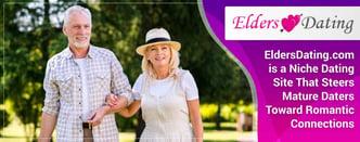 EldersDating.com Steers Mature Daters Toward Romance