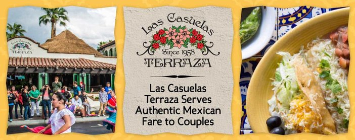 Editors' Choice Award: Las Casuelas Terraza Restaurant in Palm Springs Has Been Serving Authentic Mexican Fare to Couples Since 1958